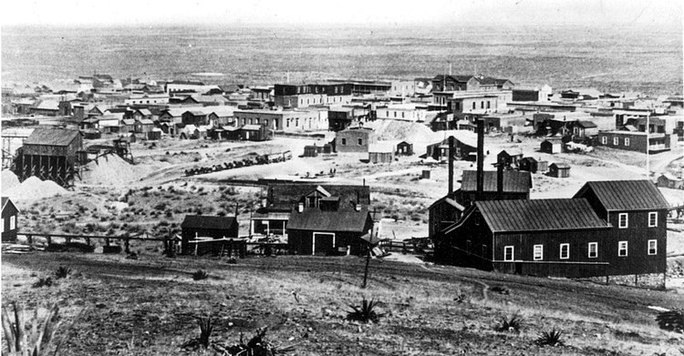 Tombstone, Arizona in 1881 photographed by C. S. Fly