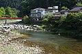 Tomoe River running through Korankei, Asuke-cho Toyota 2014.jpg