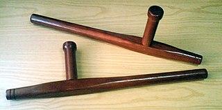 <i>Tonfa</i> Okinawan kobudō weapon