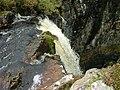 Top of the waterfall on Carbost Burn - geograph.org.uk - 1518240.jpg