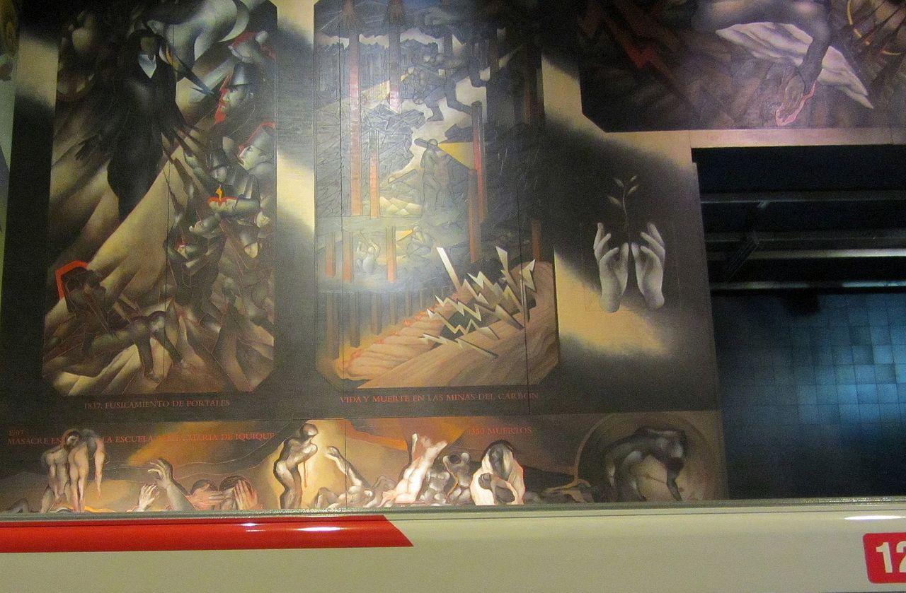Archivo toral mario metro u chile wn los conflictos for Mural metro u de chile