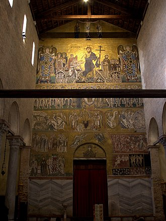 Torcello Cathedral - West wall