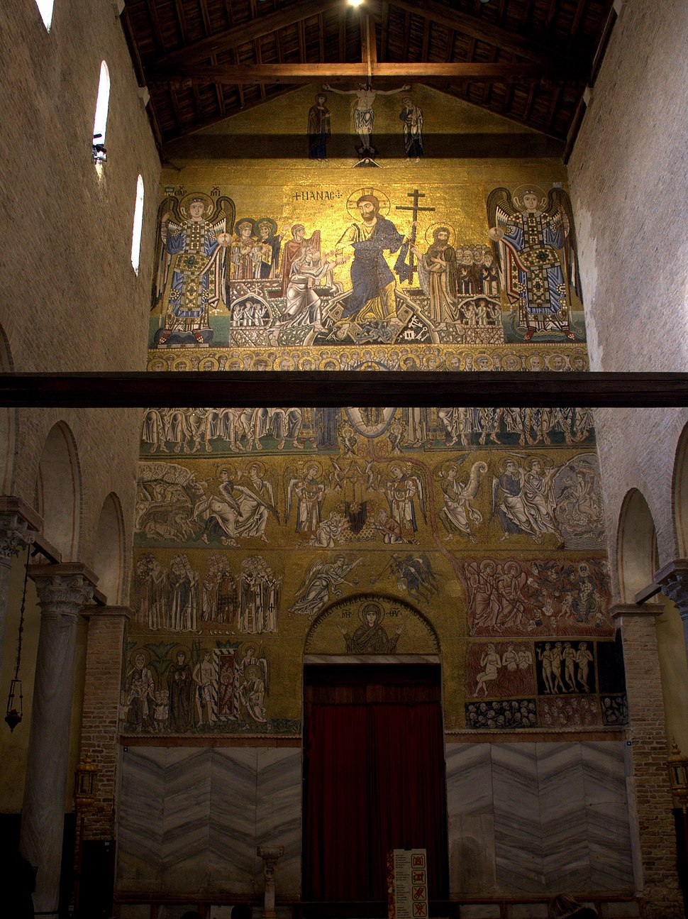 Torcello - Santa Maria Assunta.Last Judgement