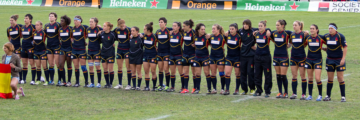 spain womens national rugby union team wikipedia