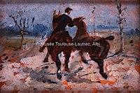 Toulouse-Lautrec - DEUX CHEVAUX MENES EN MAIN, 1882, MTL.69.jpg