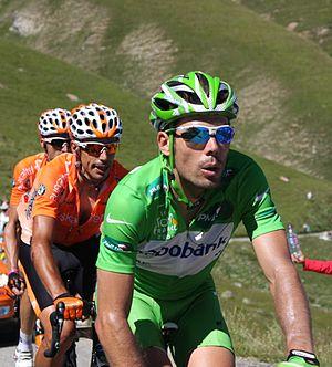 Óscar Freire - Freire at the 2008 Tour de France