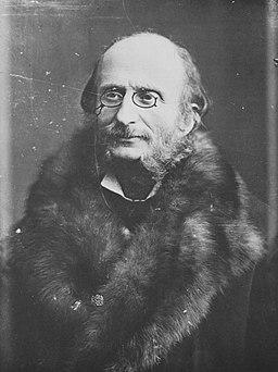 Tournachon, Gaspard-Félix - Jacques Offenbach (1819-1880) (Zeno Fotografie)