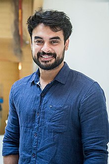 Tovino Thomas At The 'Maari 2' Press Meet.jpg