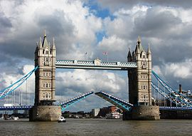 Tower Bridge,London Getting Opened 3.jpg