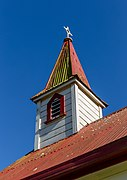 Tower of St Paul's Church, Murchison, New Zealand.jpg