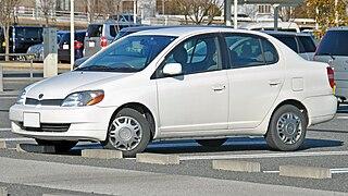 Toyota Platz Subcompact car model from Toyota