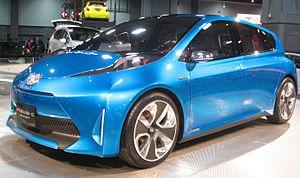 Toyota Prius C - Prius c concept exhibited at the 2011 Washington Auto Show.