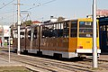 Tram in Sofia in front of Central Railway Station 2012 PD 069.jpg