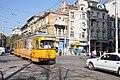 Tram in Sofia near Central mineral bath 2012 PD 054.jpg