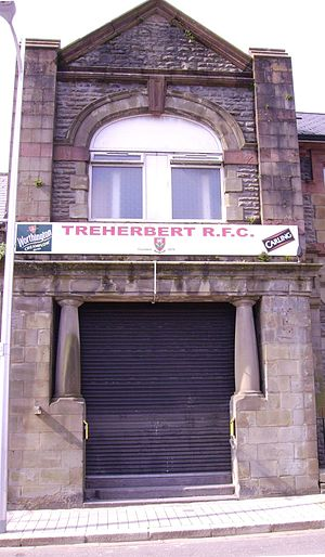 Treherbert RFC - Image: Treherbert rfc