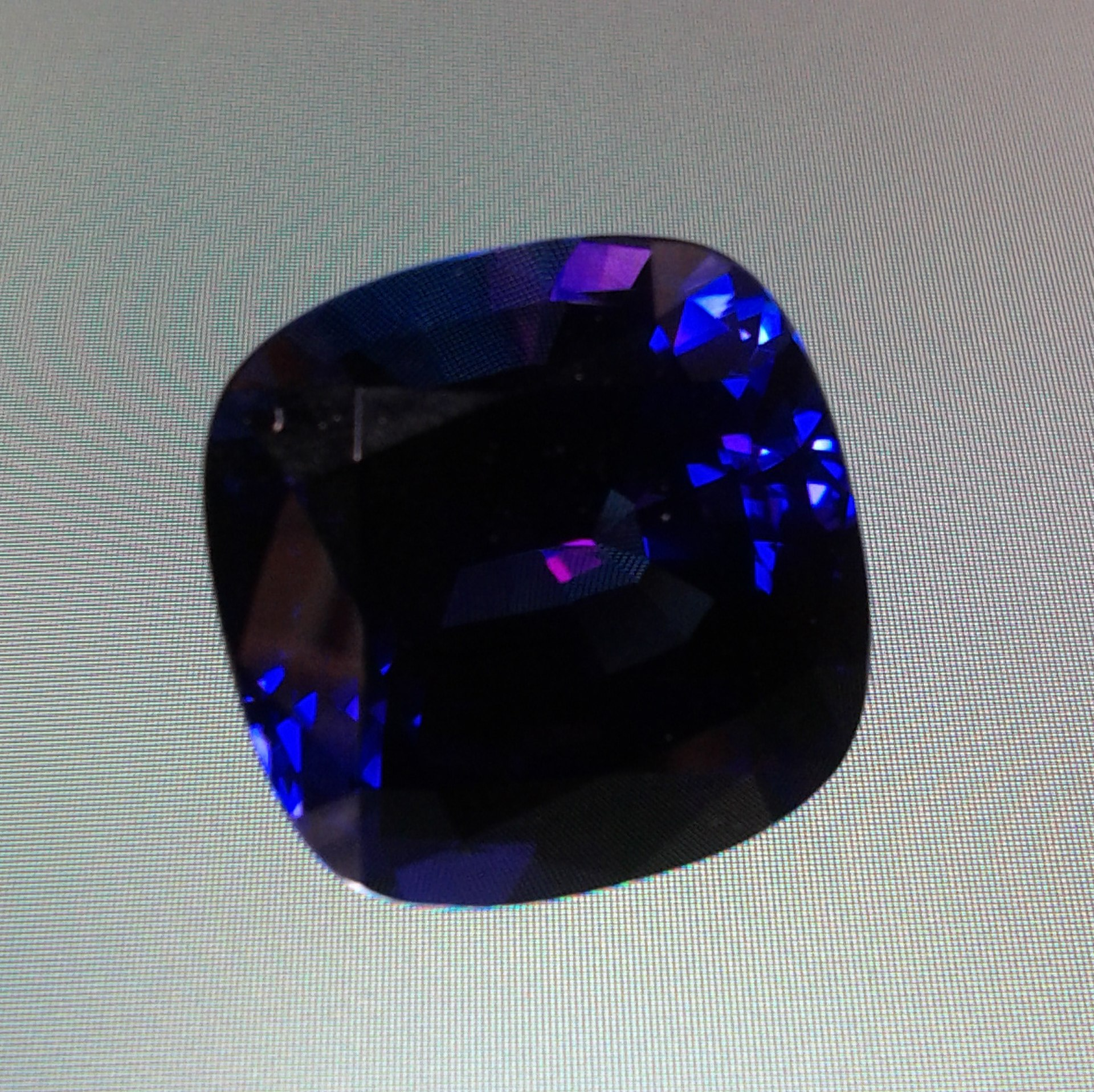 Tanzanite And Blue Opal Ring