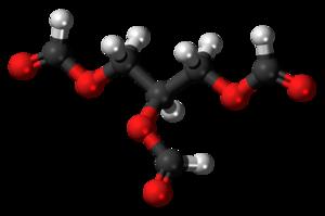 Triformin - Image: Triformin 3D ball