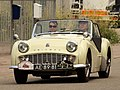 Triumph TR3A (1958), Dutch licence registration AE-89-81.JPG