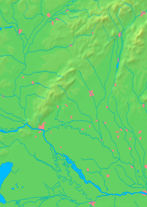 Gabčíkovo - Image: Trnava Region background map