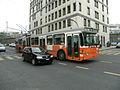 Trolleybus Saurer BBC-SE GT 560 n° 666 des TPG circulant rue de Saint-Jean, à Genève.jpg