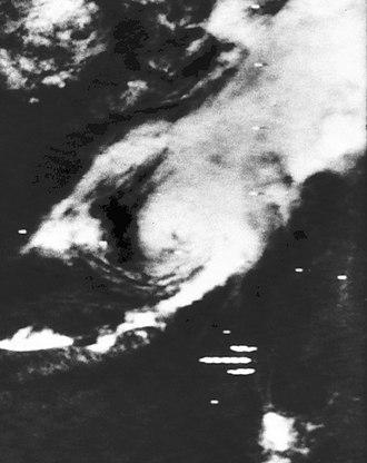1970 Atlantic hurricane season - Image: Tropical Storm Four (1970)