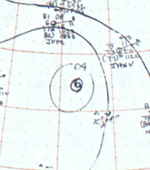 Tropical Storm Nancy surface analysis 18 August 1964.png