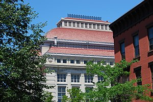 Troy Savings Bank Music Hall - The music hall's iconic roof