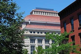Troy Savings Bank Music Hall - The music hall's iconic roof