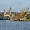 Truro Cathedral and the River Truro (Taken by Flickr user 2nd January 2015).jpg