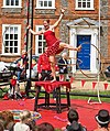 Tumble Circus at the Hat Fair, Winchester - geograph.org.uk - 870825.jpg