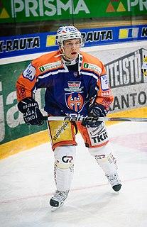 Tuukka Mäntylä Finnish ice hockey player