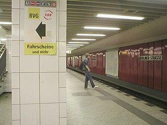 Berliner Straße (Berlin U-Bahn) - U-Bahn station Berliner Straße