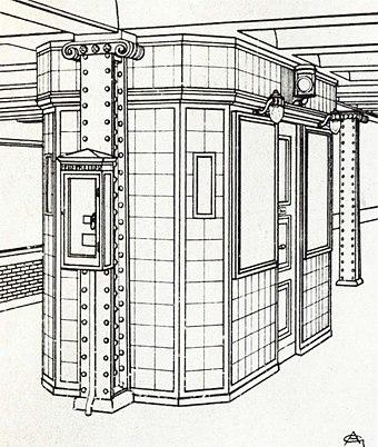 Der Hausarchitekt Der Hochbahngesellschaft, Alfred Grenander, Entwarf Alles  Bis Zum Letzten Detail Für Den