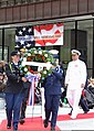 U.S. Coast Guard Rear Adm. Michael Parks, right, the commander of the 9th Coast Guard District, joins other Service members in placing a wreath during a Memorial Day ceremony in Chicago May 25, 2013 130525-G-PL299-940.jpg