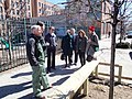 U.S. Forest Service Chief Tom Tidwell tours New York City with agency employees and representatives from the New York City Department of Park and Recreation.jpg