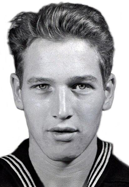 Paul Newman Famous Veteran