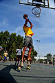 U.S. Soldiers with the 5th Battalion, 7th Air Defense Artillery Regiment and Israeli soldiers compete in a basketball game during a field competition as part of Austere Challenge 2012 in Hazor, Israel 121101-F-QW942-573.jpg