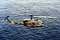 UH-1N from USS Saipan (LHA-2) in flight 1990.JPEG