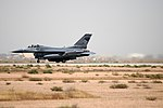 USAF F-16 take off at Joint Base Balad Apr 2010.jpg