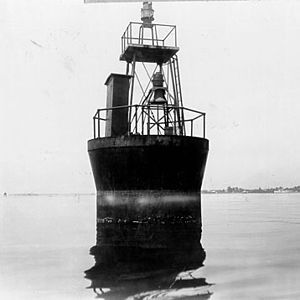 Cherrystone Bar Light - the 1919 caisson light (USCG)