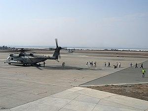 RAF Akrotiri - U.S. Marines Helicopter at RAF Akrotiri