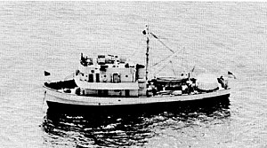 USS Accentor (AMc-36) - USS Accentor