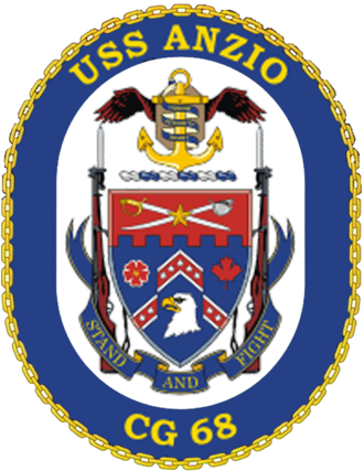 USS Anzio (CG-68) - Crest of USS Anzio