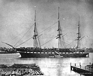 USS <i>Franklin</i> (1864) United States Navy screw frigate