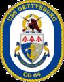 USS Gettyburg CG-64 Crest.png