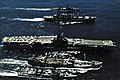 USS Oriskany (CVA-34) and destroyers being replenished off Vietnam 1969.jpg