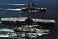 USS Oriskany (CVA-34) and destroyers being replenished off Vietnam 1969.jpg