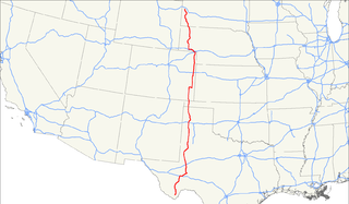 U.S. Route 385 highway in the United States