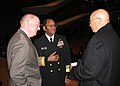 US Navy 090119-N-8745S-001 Vice Adm. Mel Williams Jr. speaks to Norfolk City Mayor Paul Fraim and former Vice Mayor Joseph Green at Chrysler Hall.jpg