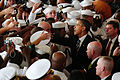 US Navy 091026-N-1644C-008 President Barack Obama shakes hands with Sailors, Marines and other service members.jpg